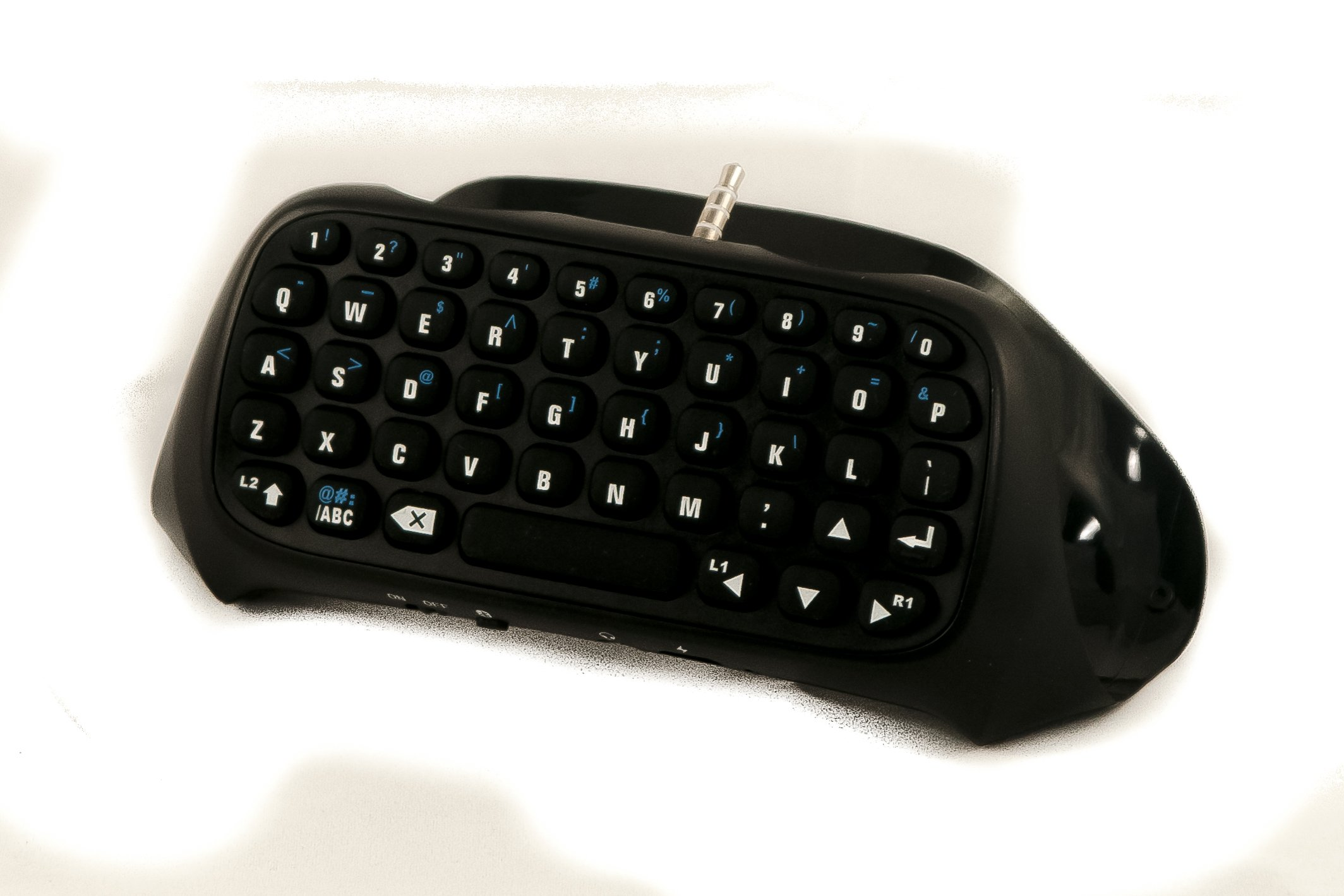 GAMINGER Teclado Bluetooth QWERTY para Control Dualshock de ...