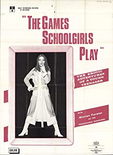 The Games Schoolgirls Play 1972 Authentic 28