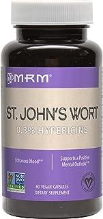 MRM St. John's Wort 0.3% Hypericin 450 Mg Vegetarian Capsules, 60 Count