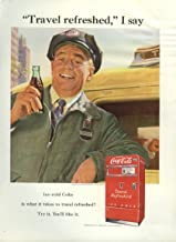 Travel refreshed I say Coca-Cola ad 1951 taxi driver vending machine NY