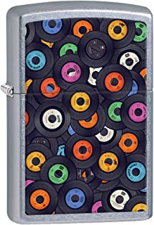 Zippo Lighter: Vinyl Records - Street Chrome 80847