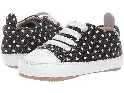Old Soles Eazy Jogger (Infant/Toddler) (Star Glam Black) Boys Shoes