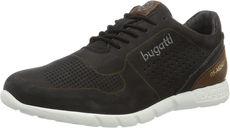 Bugatti Herren K19015 Turnschuhe, Turnschuhe, schwarz 100, 45 EU  Das neueste Marken-Outlet online