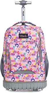 Best pacific gear treasureland kids hybrid lightweight rolling backpack Reviews
