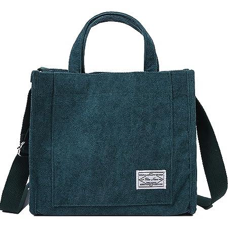 Makukke Handtasche Damen - Umhängetasche Damen Cord Designer Schultertaschen Taschen, für Schule Shopper Lässige täglich