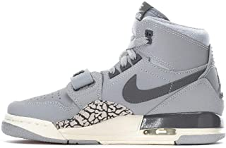 [ナイキ] AIR JORDAN LEGACY 312 GS WOLF GREY/LIGHT GRAPHITE/SAIL [並行輸入品]