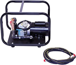 Wheeler-Rex Hydrostatic Test Pump, Electric, Twin Piston, Positive Displacement, 1 HP, 3 GPM, 500 psi - 35100