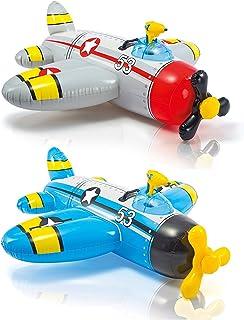 Intex 57537 Water Gun Plane Ride-on 52 inch X 51 Inch