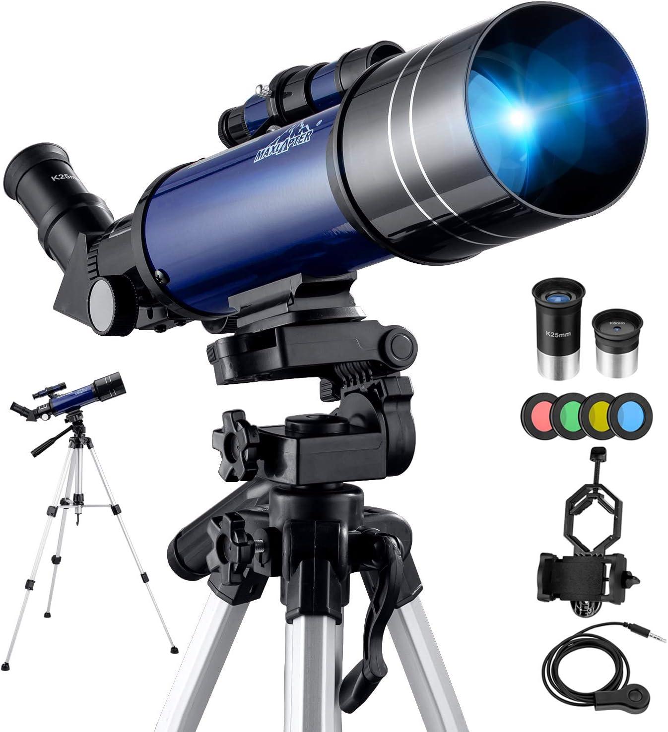 Telescopio Astronómico Kit Completo Pro 40070MM