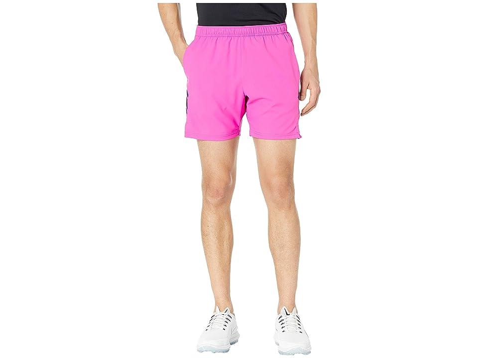 Nike NikeCourt Dry Shorts 7 (Active Fuchsia/Oil Grey/Oil Grey) Men