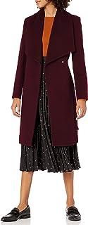 معطف كول هان النسائي بتصميم ملتف من الصوف