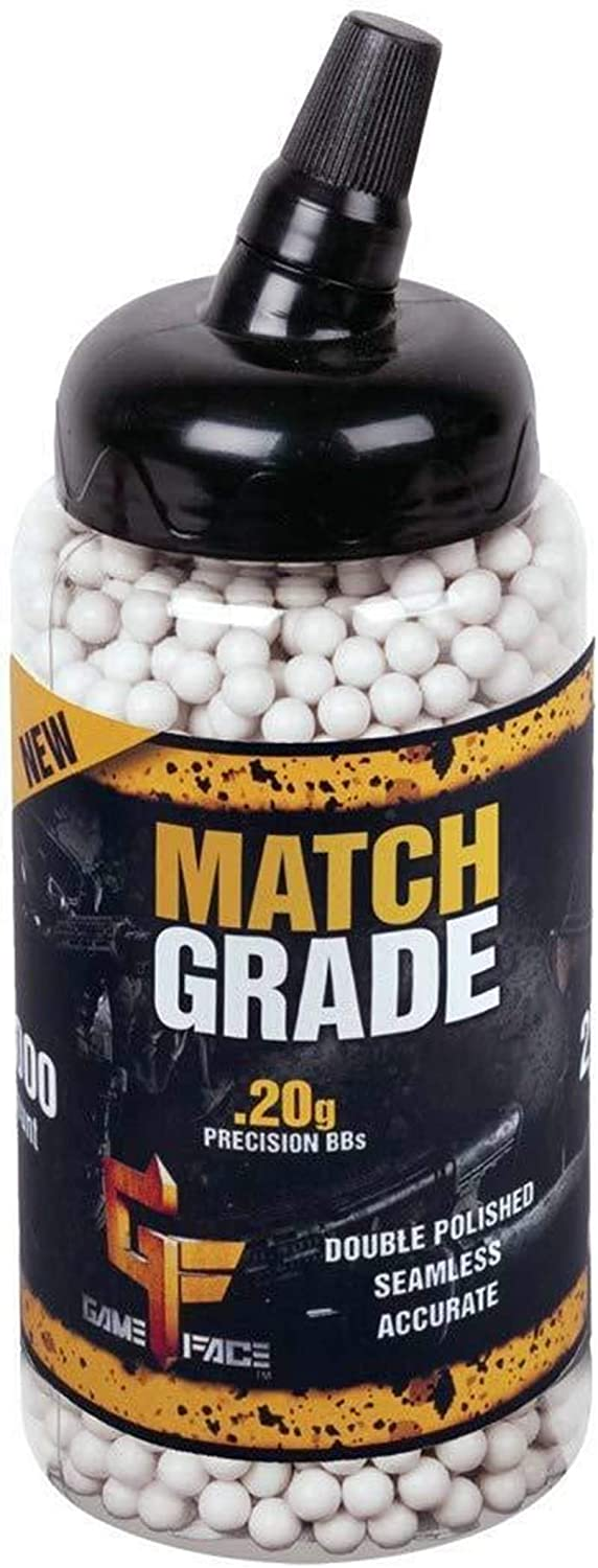 AirSoft 6mm Biodegradable BBS 0.20g 2000 RDS White