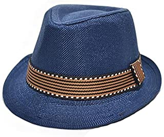 BODHI2000 Cappello Fedora Trilby per bambini, per fotografia e jazz