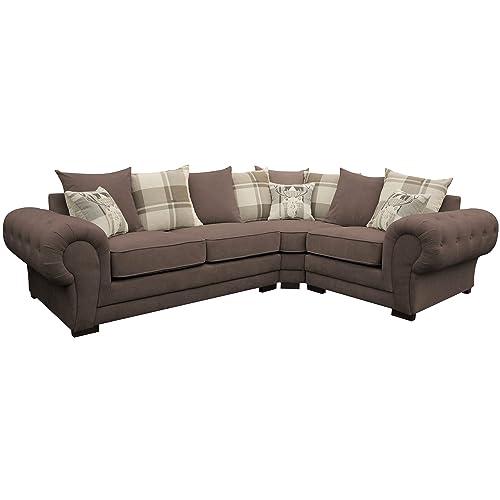 Cream Corner Sofa: Amazon.co.uk