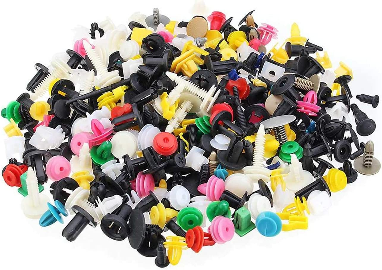 HMEILI 500 1000PCS Cheap mail order specialty store Mixed Auto Bumper Vehicle Car Fastener Clips Charlotte Mall