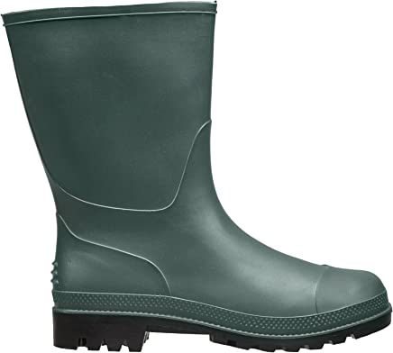 Briers Traditional Short Boots, Green, Size 7/40.5