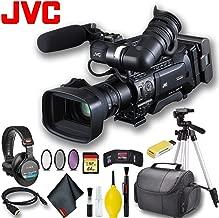 JVC GY-HM850U ProHD Compact Shoulder Mount Camera with Fujinon 20x Lens Master Bundle