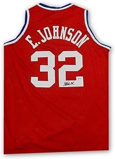 09508b9d5 Magic Johnson Hand Signed Autographed All Star Jersey LA Lakers Beckett COA