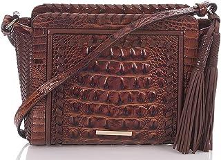 d72729d60c43 NEW AUTHENTIC BRAHMIN CARRIE CROSSBODY BAG (Pecan Melbourne)