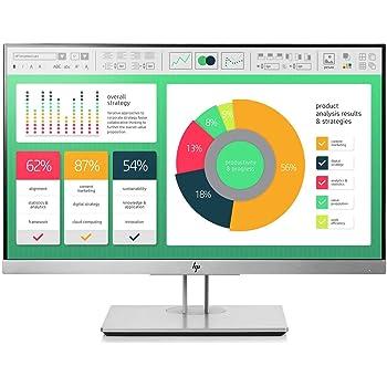 "HP EliteDisplay E223 | 22"" Monitor | HD IPS Screen | Silver | 1FH45A8"
