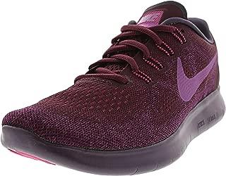 Nike Women's Free RN 2017 Running Shoe Bordeaux/Monarch Purple/Bold Berry Size 9 M US