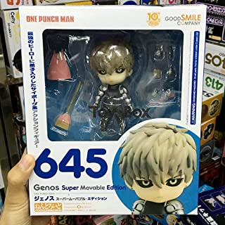 Allegro Huyer nendoroid one Punch Man genos Super Movable Edition 645 Cartoon PVC Action Figure Model Doll Gift (with Box)