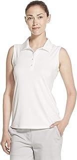 IZOD Women's Golf Sleeveless Stretch Snap Polo