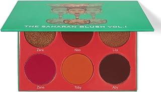 Juvia's Place The Saharan Blush Palette Vol. 1 for Women Makeup