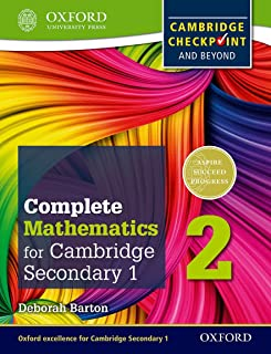 Complete Mathematics for Cambridge Lower Secondary 2 (First Edition)