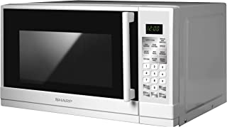 Sharp 20 Liter Digital Solo Microwave, White