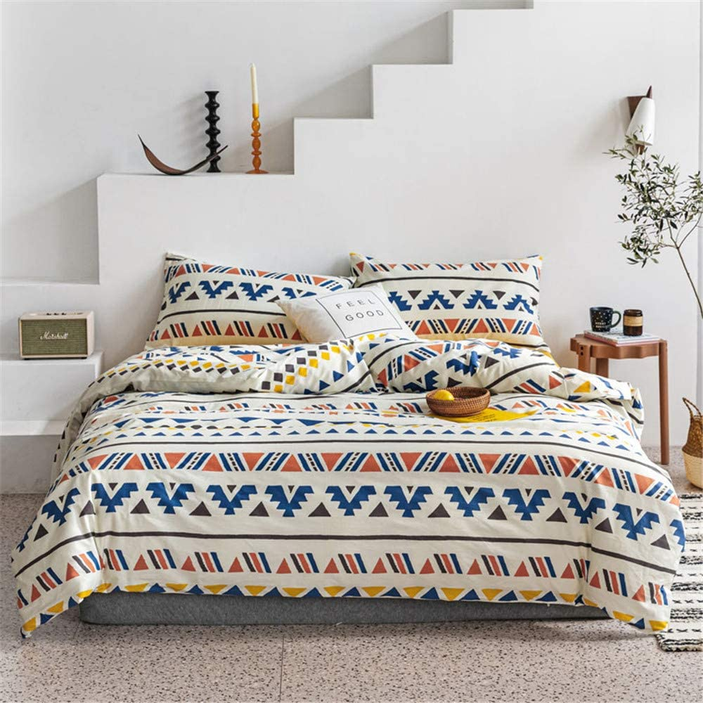 NOOS Boho Style Max Ranking TOP19 41% OFF Aztec Duvet Cover Full Size Bohemia Set Bedding