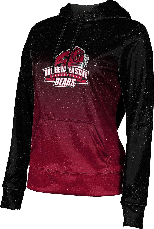 ProSphere Bridgewater State University Girls' Pullover Hoodie, School Spirit Sweatshirt (Ombre)
