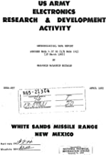 Aerobee nasa 4.57 gg /s/n nasa 143/ meteorological data report