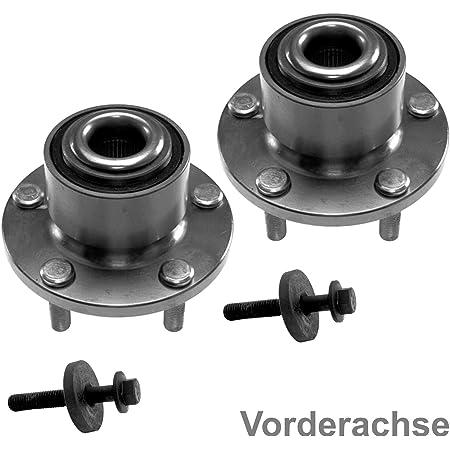 2x Radlager Mit Integriertem Magnetischen Sensorring Vorderachse 2x Zentralschraube Auto