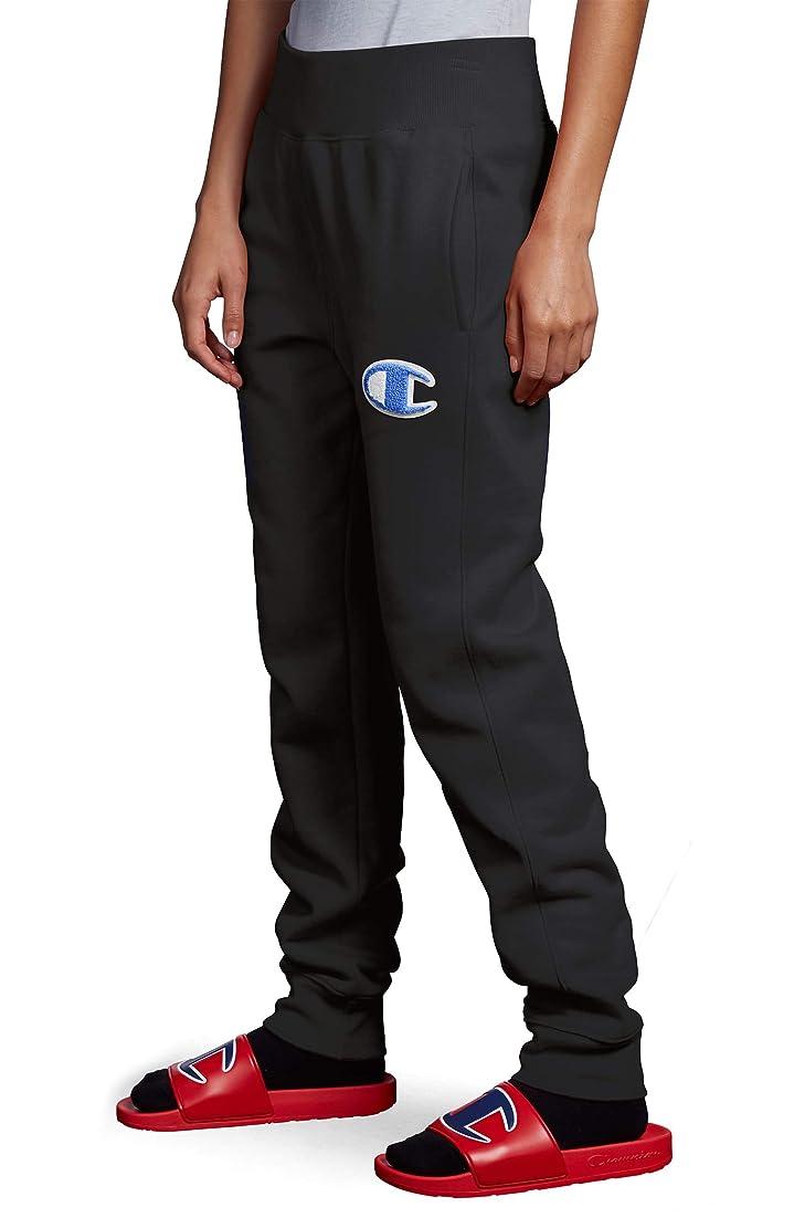 例示するラップ脚[チャンピオン] レディース カジュアルパンツ Champion Chenille Logo Reverse Weave Jog [並行輸入品]