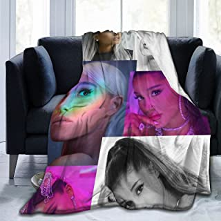 GIPHOJO A-Riana Trend G-rande Ultra-Soft Micro Fleece Blanket Throw Fuzzy Lightweight Hypoallergenic Plush for Kids Boys Girls Adults 3D Fashion Print Blanket Perfect for Couch Sofa Bed,50x40