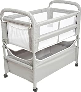 Arms Reach Concepts Inc. Clear-Vue Co-Sleeper, Grey, One Size, 3 Pieces