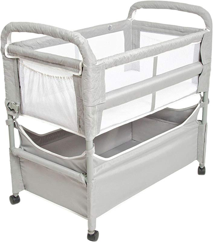Arms Reach Concepts Inc Clear Vue Co Sleeper Grey One Size 3 Pieces