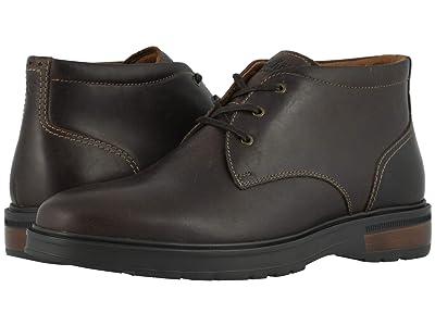 Florsheim Astor Plain Toe Chukka Boot (Brown Crazy Horse/Brown Sole) Men