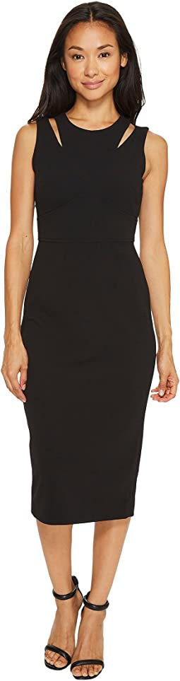 Calvin Klein - Shoulder Cut Out Sheath Dress