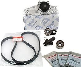 Timing Belt KIT | Water Pump T-Belt kit | Engine Kit | Timing Seals Cam Crank | Crankshaft Camshaft | Genuine/OEM | (As in Photo) Fits Select Honda, Acura Vehicles.