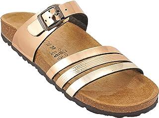 012-290 Biochic Ladies Sandals Metallic Gold