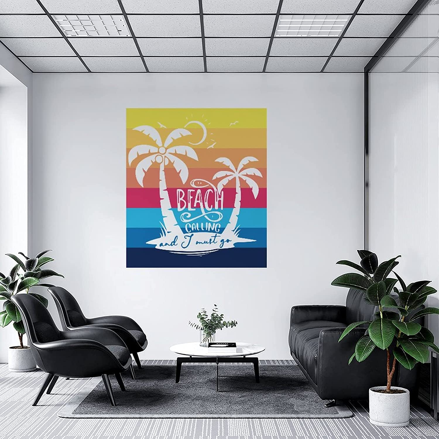 Wall Max 84% OFF Decal The Beach is Calling and I Gorgeous Must Go Stickers DIY