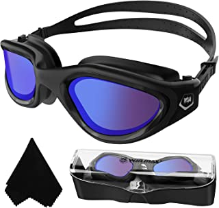 Polarized Swimming Goggles Swim Goggles Anti Fog Anti UV...