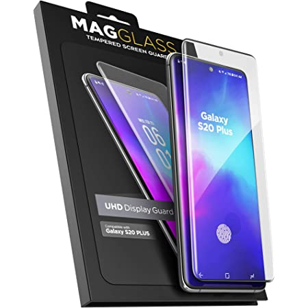 Magglass Samsung Galaxy S20 Plus Tempered Glass Screen Protector With Fingerprint Sensor Anti Bubble Uhd Clear Scratch Resistant Screen Protector Compatible With Case Elektronik