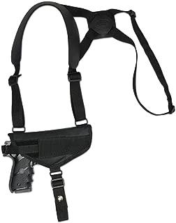 Barsony New Cross Harness Gun Shoulder Holster for Full Size 9mm 40 45