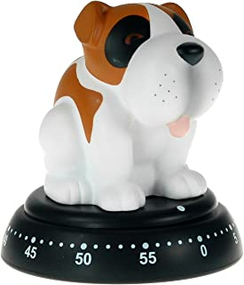Mechanical Kitchen Timer - Cute Dog Design - 60 Minute Timer By Bengt Ek
