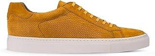 Deery Hakiki Süet Sarı Sneaker Erkek Ayakkabı - 01681MSRIC01