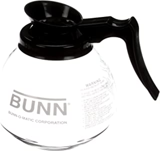 Bunn 42400.0101 Commercial Glass Decanter, 12 Cup