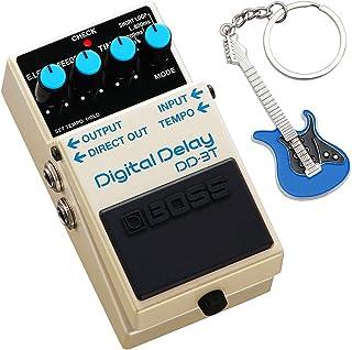 Boss DD-3T - Pedal de efectos digital (incluye llavero keepdrum), color azul